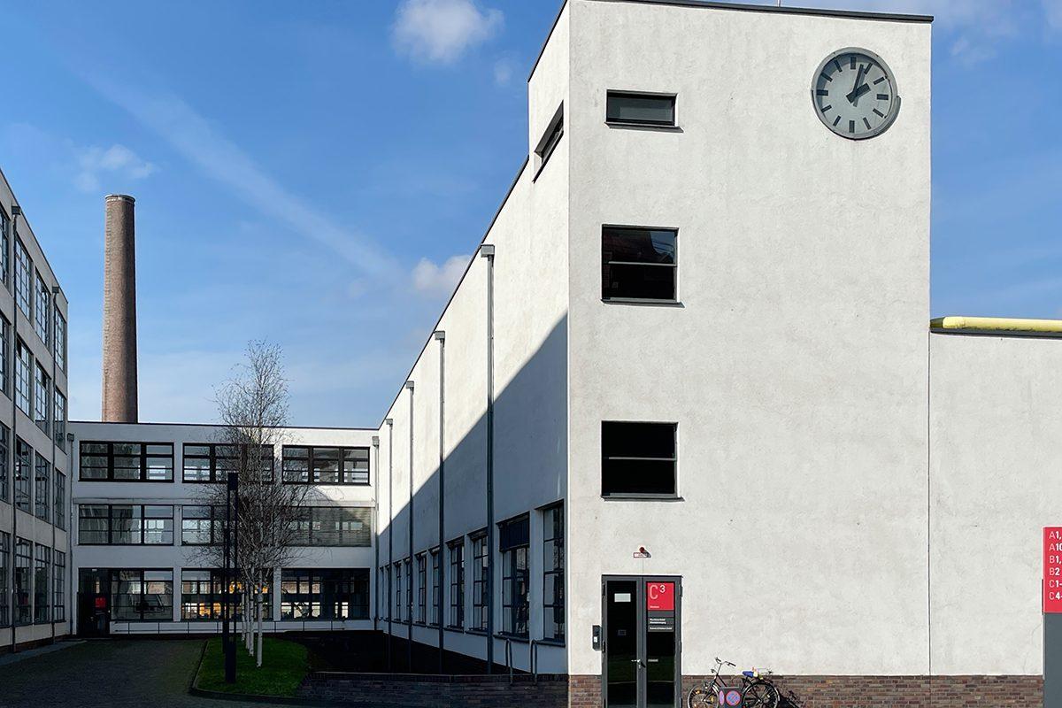 Uhrenturm mit erweitertem Verbindungsgang 2021